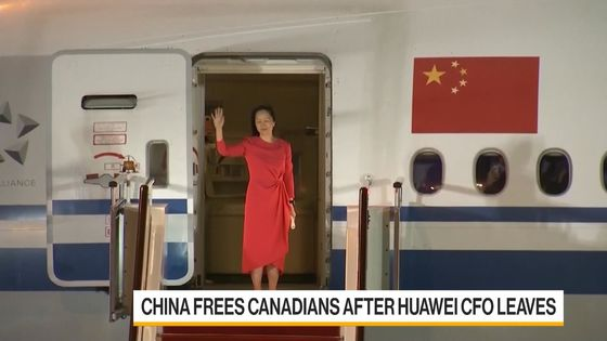 Canada's Two Michaels Land in Calgary After Release by China