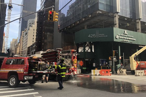 Fire Breaks Out at Midtown Office Tower Set to House Citadel
