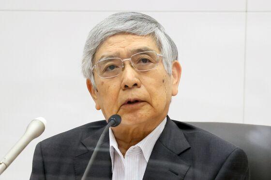 Kuroda Rejects China Bubble Risk, Says It's Not Like 1980s Japan