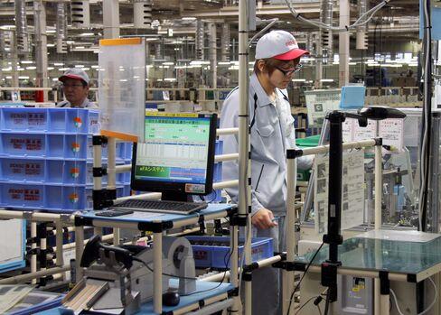 Japan's Machinery Orders Drop in Sign Rebound Is Stalling