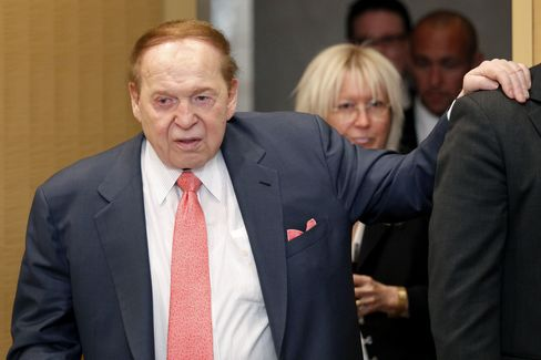 Las Vegas Sands Corp. Chairman and CEO Adelson