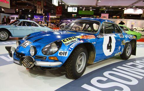 The original Alpine A110.