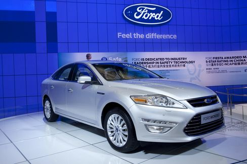 Ford Bets $4.9 Billion It Can Overcome Also-Ran Status in China