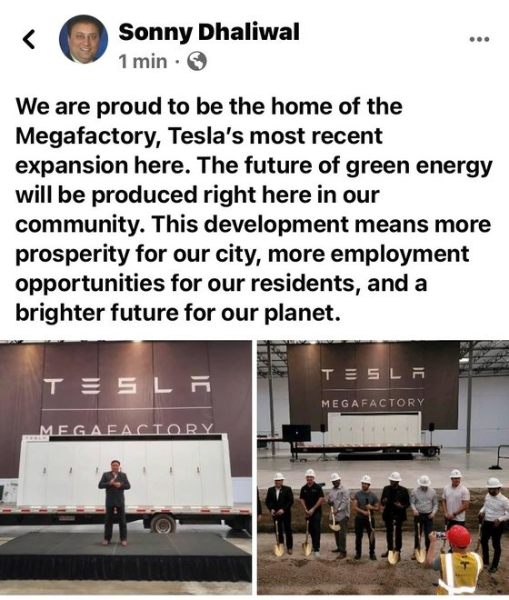 Tesla Is Building a New Battery Factory in California