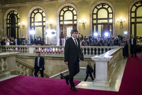 カタルーニャ州のプチデモン首相