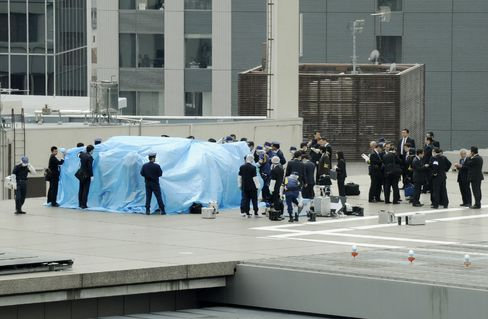 Drone Found on Roof of Japan's PM Office