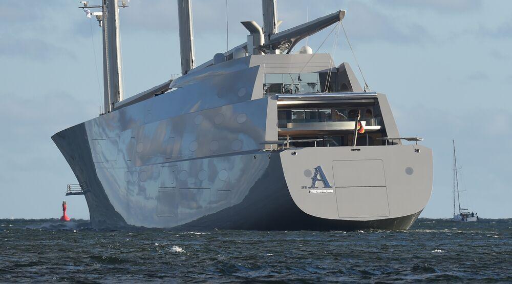 Sailing Yacht A >> Sleek Superyacht Seized In Gibraltar Over 16 2m Debt Claim