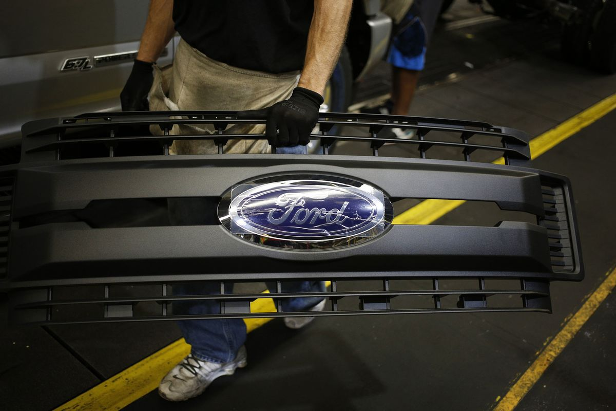 Ford Lays Off 130 at Ohio Plant It Touted to Deflect Trump