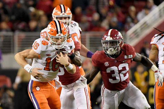 Clemson Blowout of Alabama Draws Smallest TV Audience Since 2012