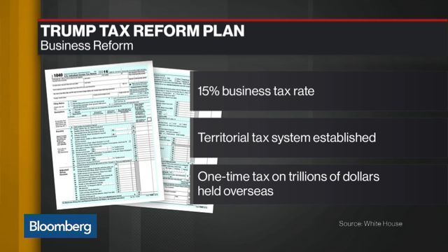 Trump's 'Phenomenal&apos Tax Plan Is Fewer Than 250 Words