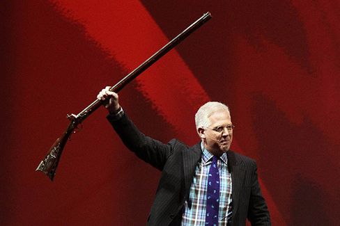 Glenn Beck Rallies the NRA Faithful