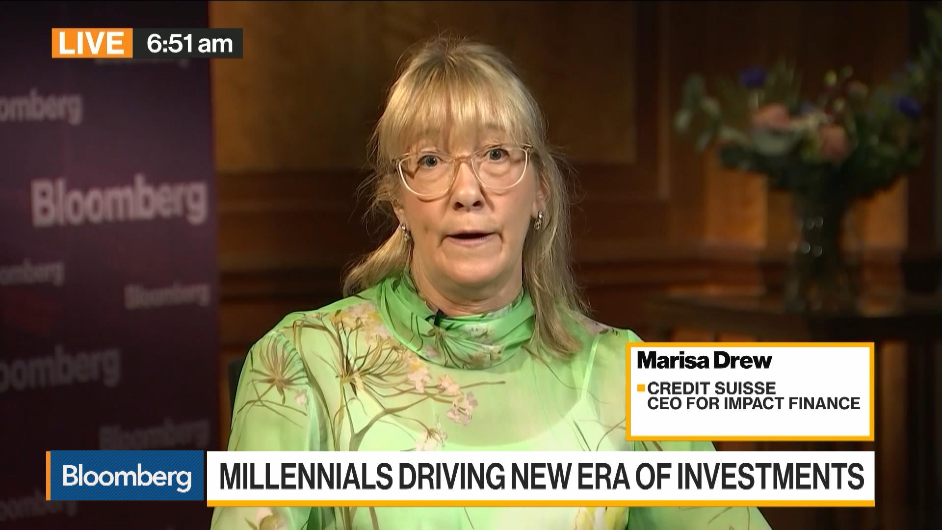 Millennials, Regulation Are Driving Impact Investing: Credit Suisse