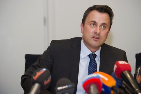 Luxembourg Liberal Party Leader Xavier Bettel