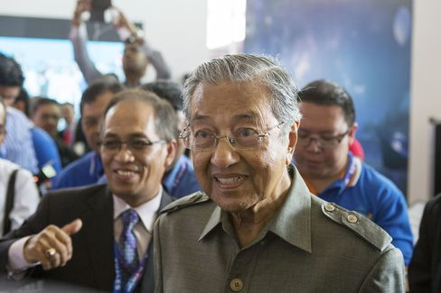Mahathir Mohamad, former prime minister of Malaysia.