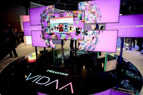 Chinese TV Maker Hisense Takes Aim at Sony