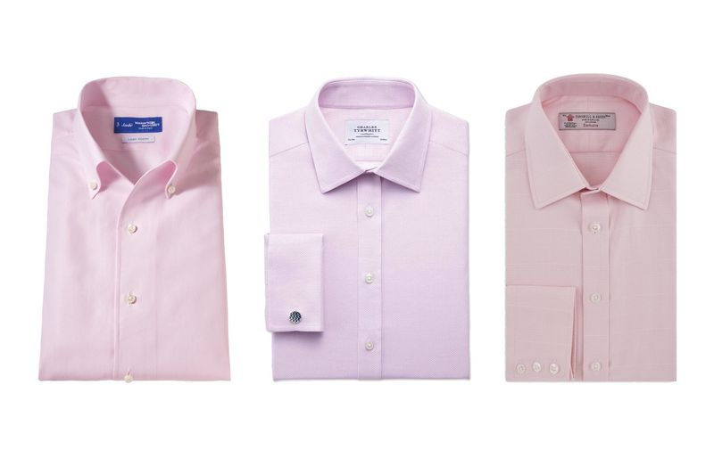 The Pink Shirt, a Preppy Staple, Gets New Life Thanks to ...