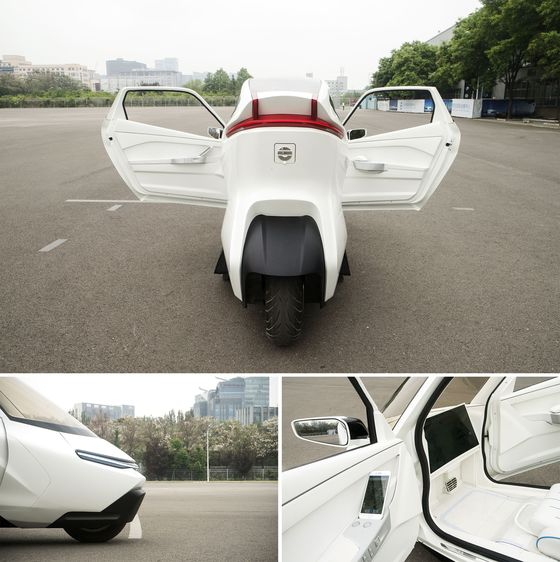 The Two-Wheeled Electric Car of the Future Is Being Tested in China