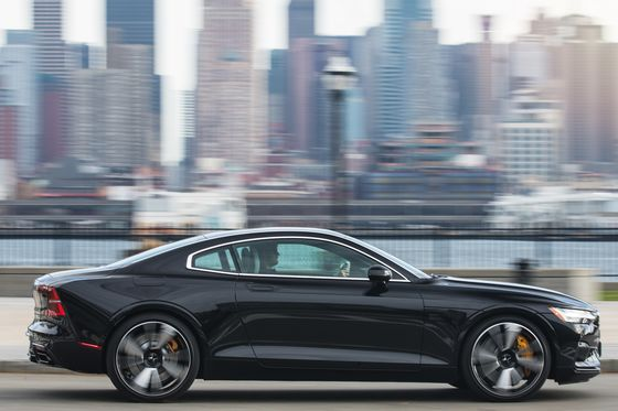 The Polestar 1 Coupe Is a Different Breed of Plug-In Hybrid