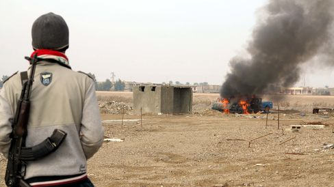 Clashes in Ramadi