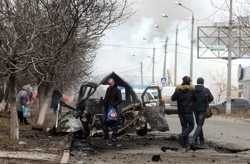 Ukraine Fighting Spreads to Key Port City as Rebels Attack