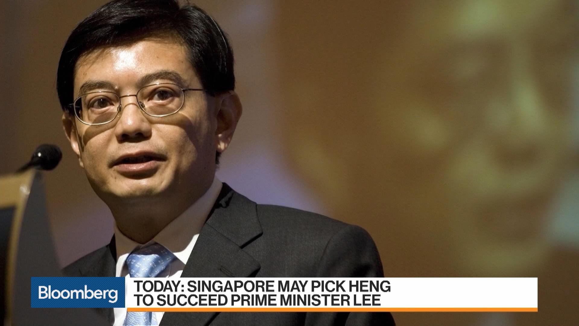 Singapore Picks Finance Chief as De Facto Successor to PM