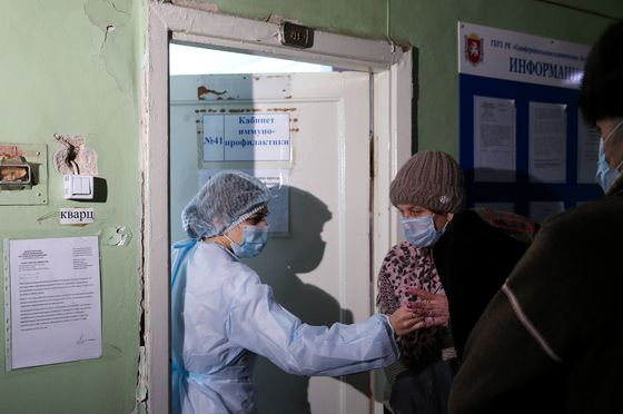 Vaccine Is Now a Weapon in Ukraine's Conflict With Russia