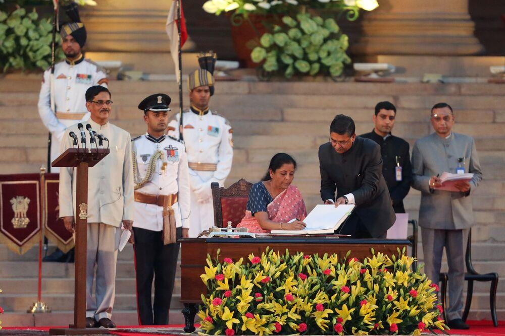 Modi Picks Nirmala Sithar To Steer Indian Economy As Growth Slows