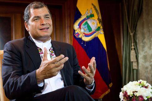 Ecuadorian President's Epic Chutzpah: From Snowden to Chevron