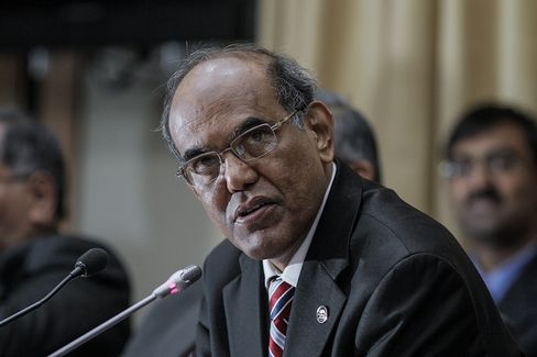Indian Central Bank Governor Duvvuri Subbarao