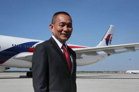 Malaysian Air CEO Ahmad Jauhari Yahya