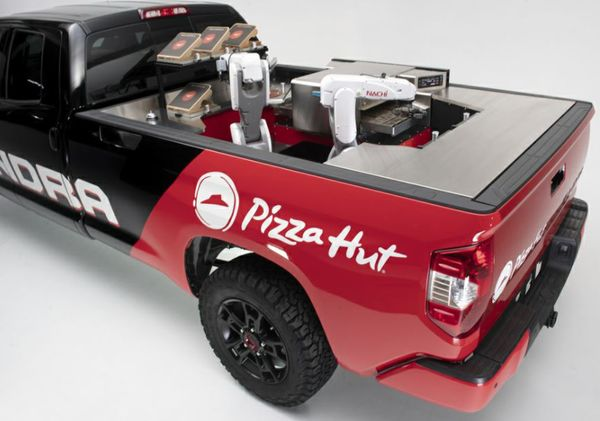 Image result for Pizza Hut Says It Will Use Robots to Cook Pizza En Route