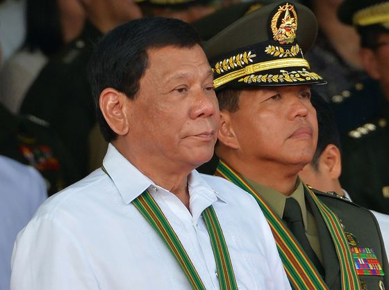Duterte Wants Retiring Army Chief to Head Philippine Food Agency