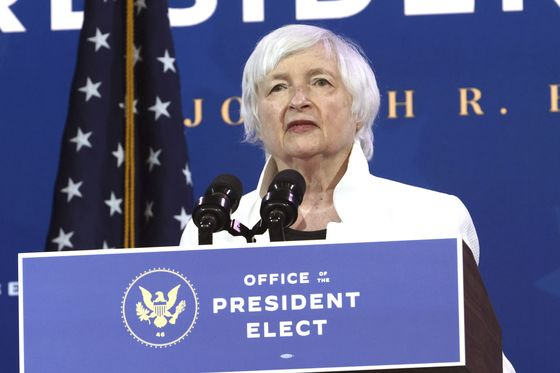 Yellen Gets a Shot to Put Treasury Clout Into Climate Fight
