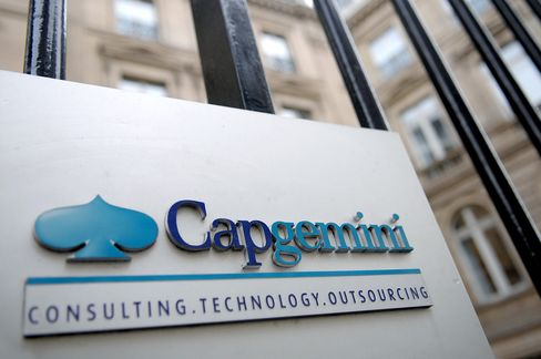 Cap Gemini Jumps Most in Four Months on Outlook