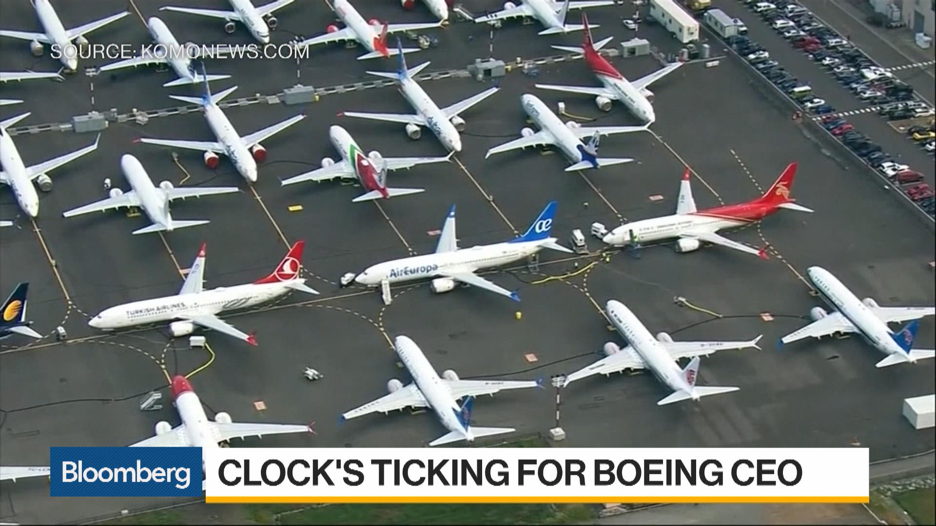 Boeing CEO Loses Chairman Title After 737 Max Groundings