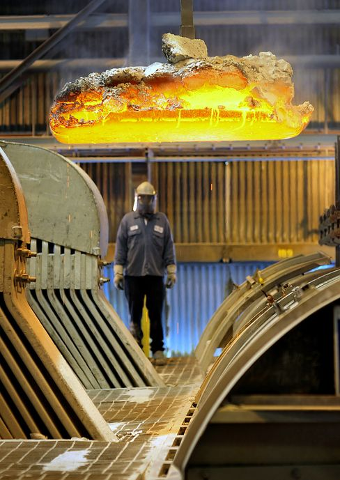 Alcoa Rating Cut to Junk by Moody's After Aluminum Price Drop