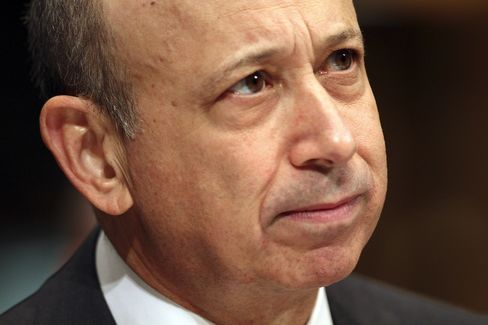 Goldman Sachs Group CEO Lloyd Blankfein
