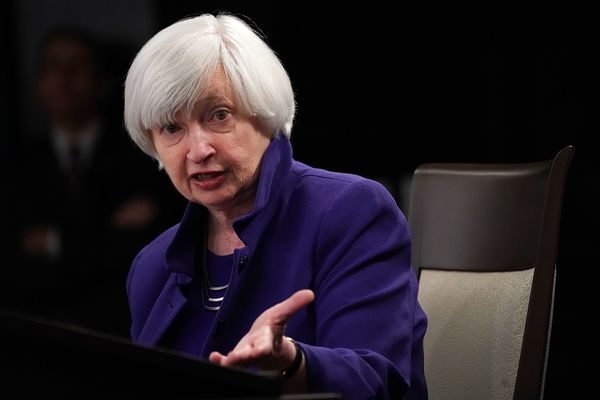 Federal Reserve Chair Janet Yellen Holds Press Conference On Interest Rates