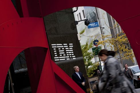 IBM Software Shift Helps Company Boost Full-Year Profit Forecast