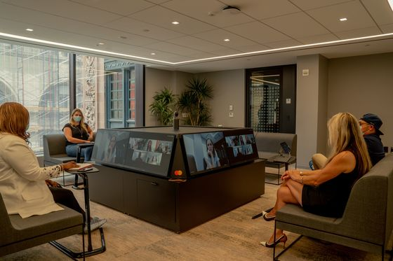 As Covid Lingers, Mastercard Revamps NYC Offices for a New Era