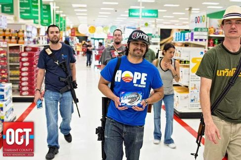 Open Carry Demonstrations in Target