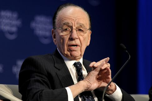 Rupert Murdoch, chairman and CEO of News Corp.