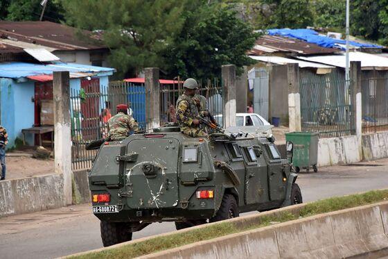 Guinea Capital Rocked by Gunfire Near President's Palace