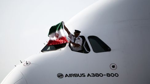 IRAN-UAE-AVIATION-AIRBUS-A380