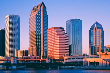 Skyline of Tampa, FL.