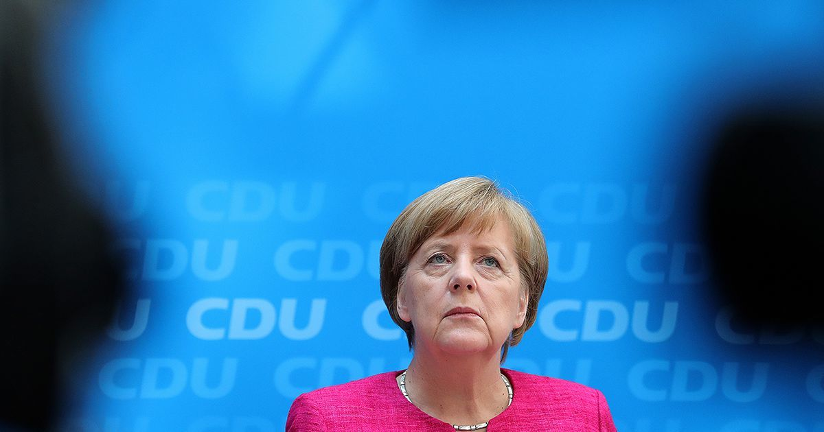 Merkel Has the Edge in September's German Elections