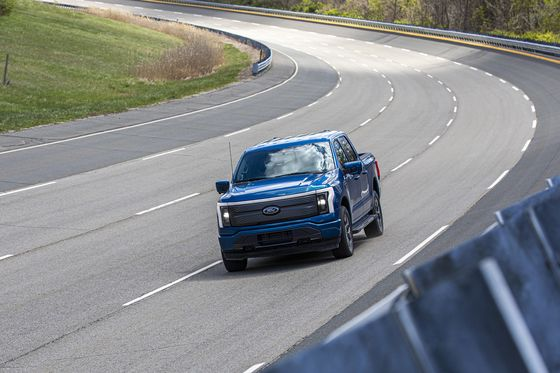 Ford's Electric Truck Passes the 'Torture Test'Without a Whimper