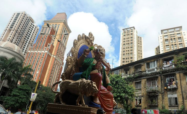 INDIA-RELIGION-HINDUISM-GANESHA