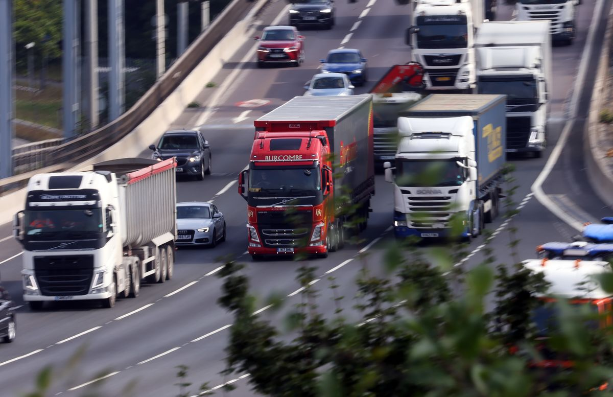 Britain's Own Truck Drivers Are Mainly Responsible for Shortage