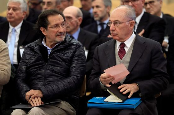 Ex-Officials Stand Trial on Bankia IPO That Sparked Spain Crisis